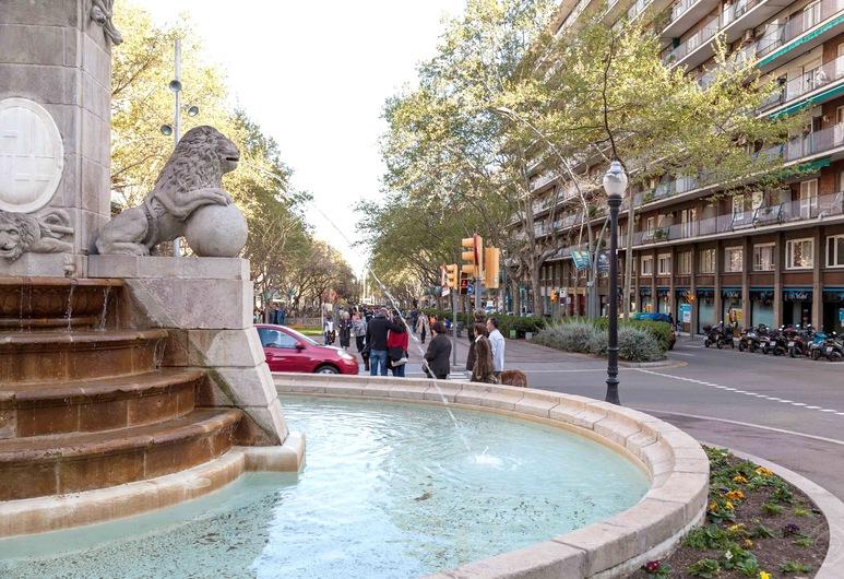 Rentbcn Apartments Gracia, Barcelone, Fontaine