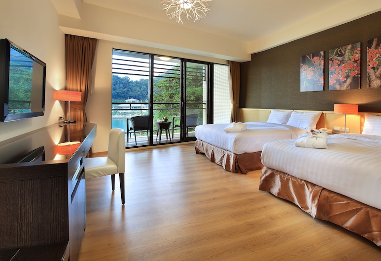 Lealea Garden Hotels-Moon Lake, Yuchi, Deluxe Family View Room, Guest Room View