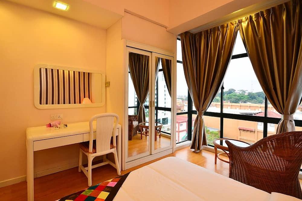 Apartmán, 3 spálne, nefajčiarska izba, výhľad na mesto - Hosťovská izba