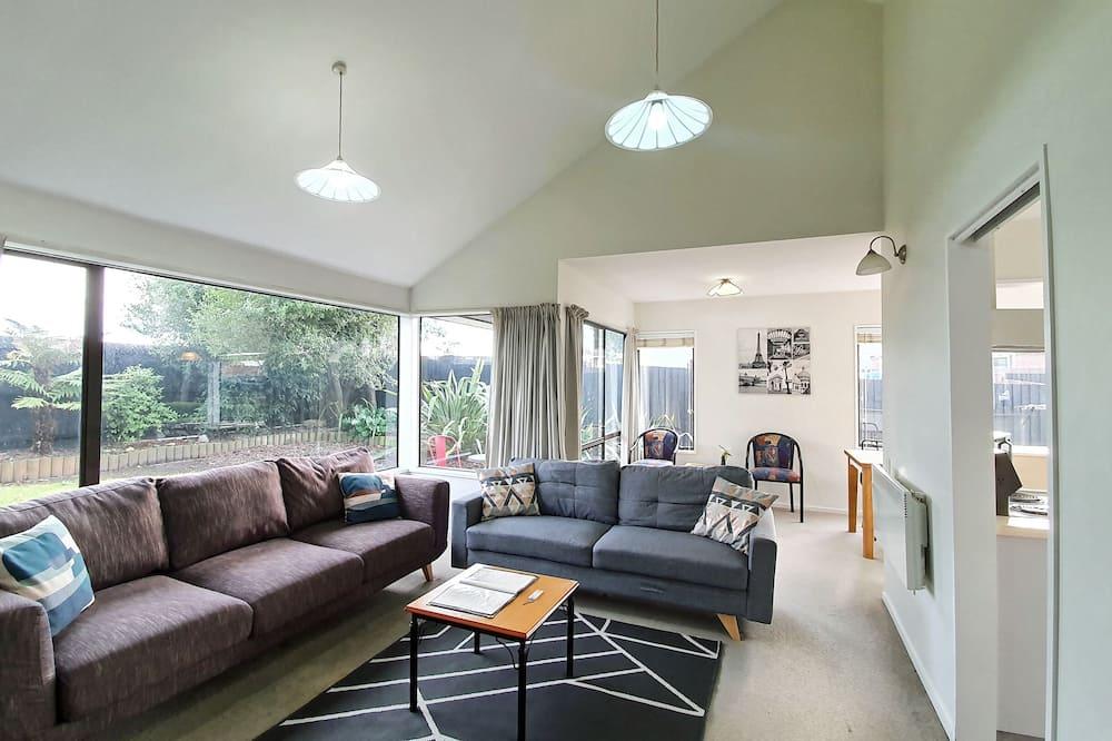 Casa adosada, 2 habitaciones - Zona de estar