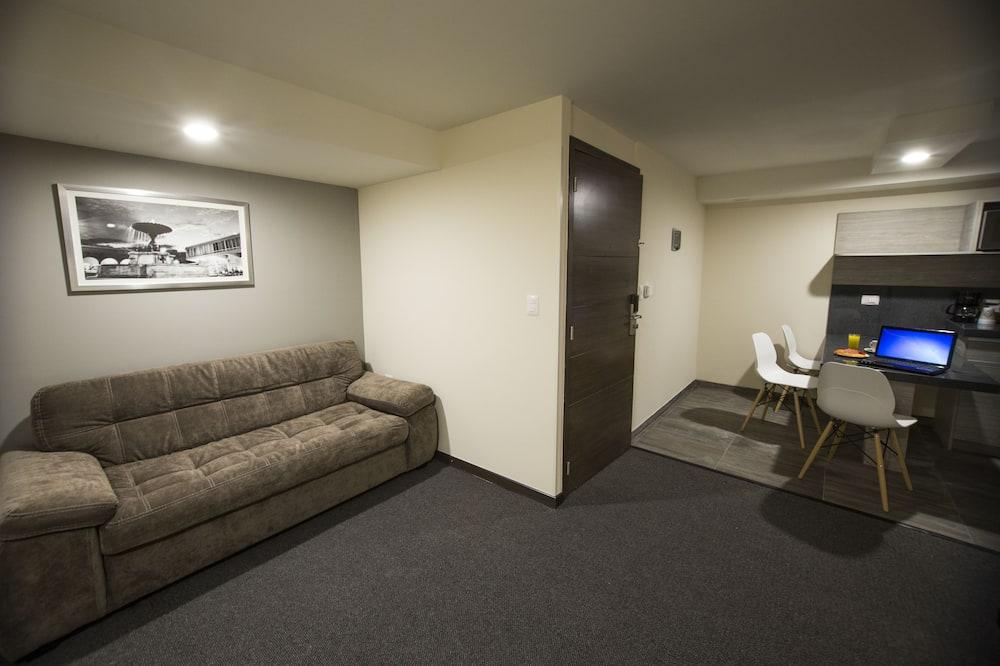 行政套房, 1 間臥室, 非吸煙房 - 客廳