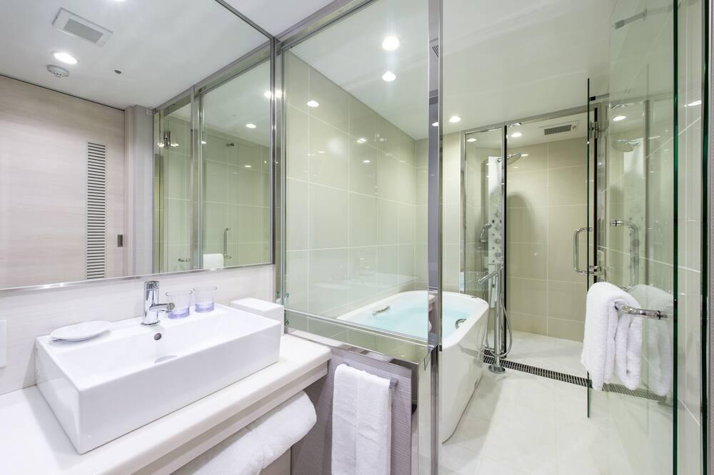 Pokój z 2 pojedynczymi łóżkami, dla niepalących (SU3) - Łazienka