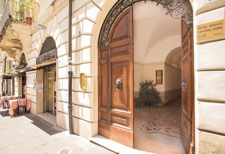 Hotel Mosaic Central Rome, Rome, Hotel Entrance