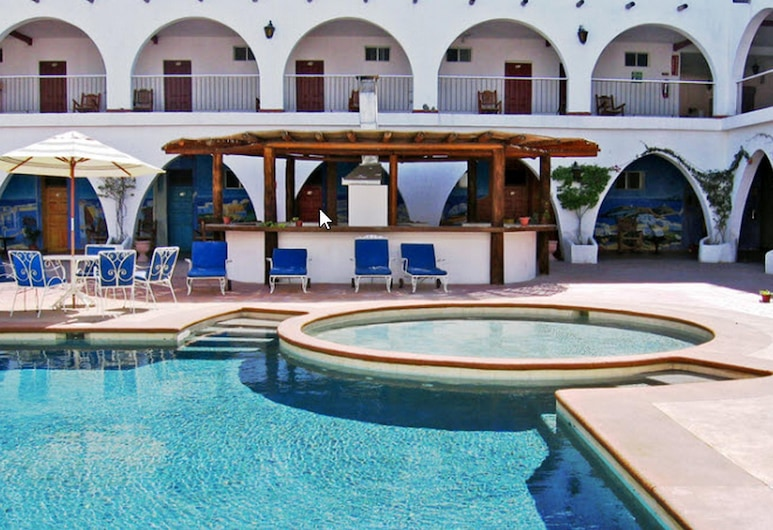 Hacienda Bugambilias, ラパス, ホテルのインテリア