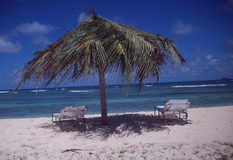 The Islander's Inn, Union Island, Beach