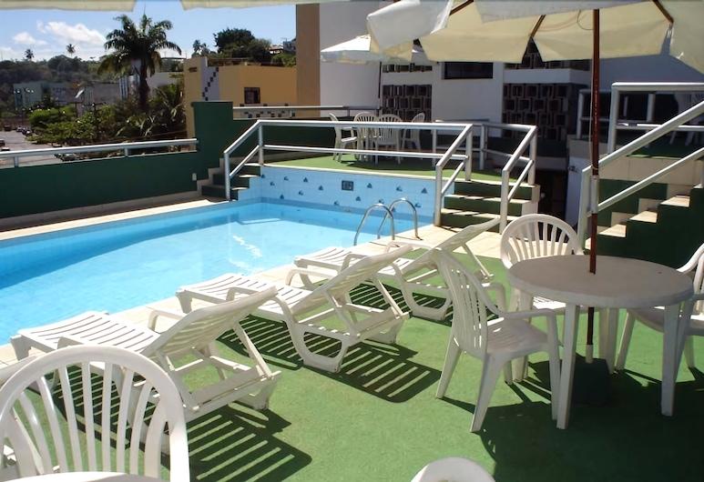 Pisa Plaza Hotel, Salvador, Sundeck
