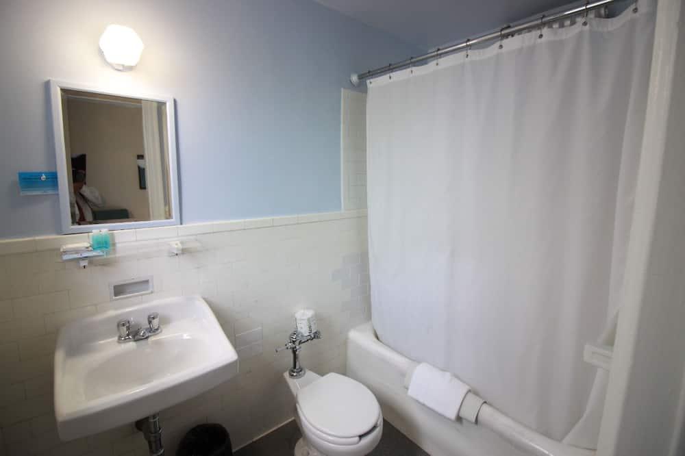 Single Room Private Shower  - Bathroom