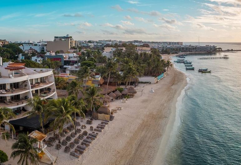 Hotel Colibri Beach, Playa del Carmen, Pláž
