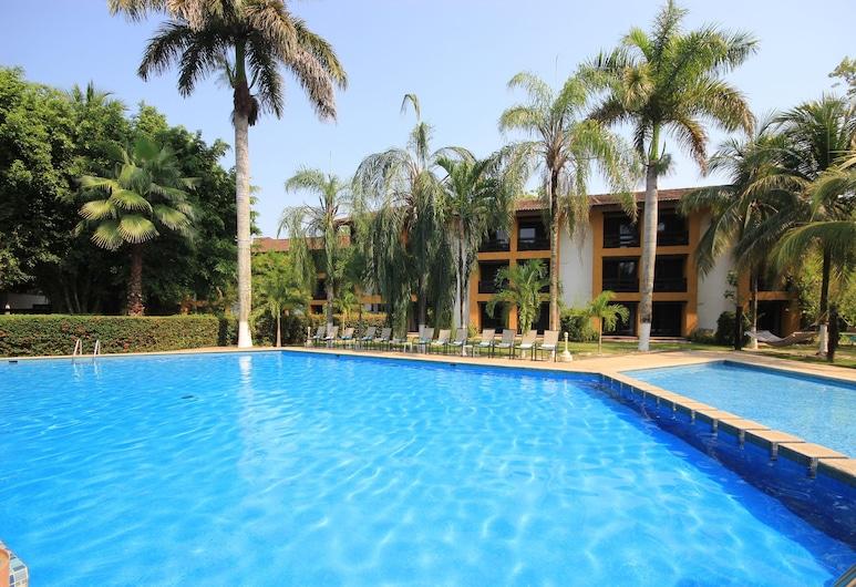 Hotel Ciudad Real Palenque, Паленке, Открытый бассейн