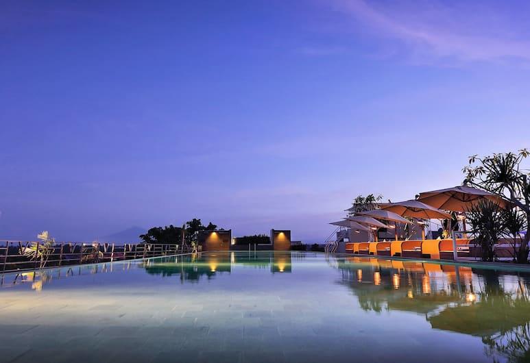水明漾文斯天空酒店, 水明漾, 天台泳池