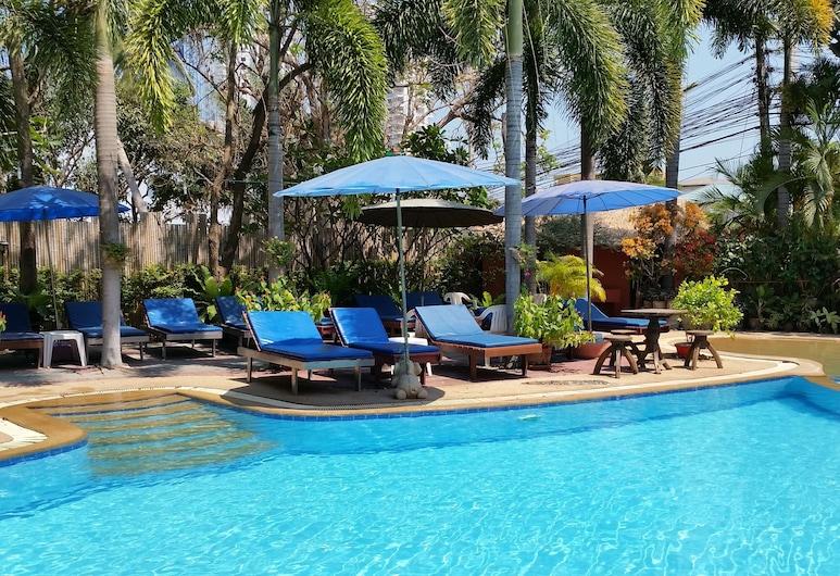 普林茨花園別墅 (華欣), Hua Hin, 室外泳池
