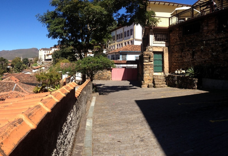 Pousada Casa dos Contos, Ouro Preto, Terrass