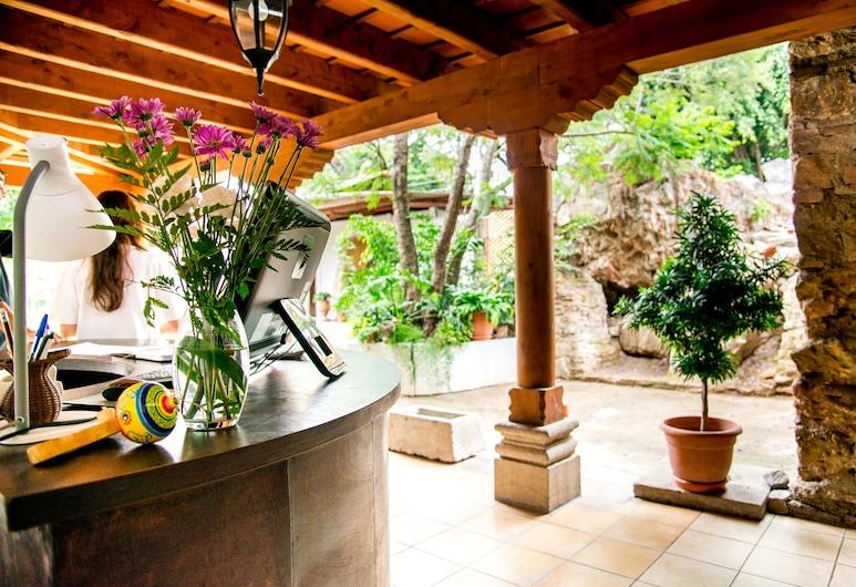 Hotel La Ermita de Santa Lucia, Antigua Guatemala, Receptie