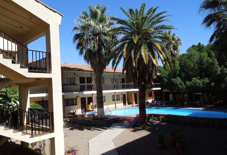 Hotel Bugambilia, Hermosillo, Pročelje hotela