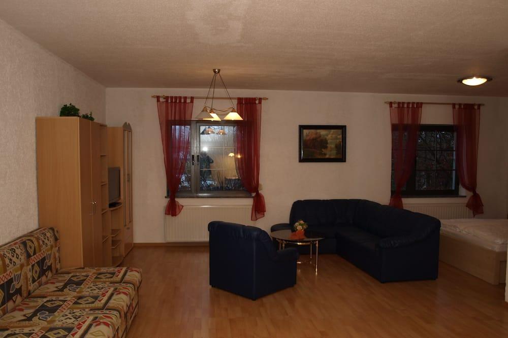 Departamento, cocina - Sala de estar