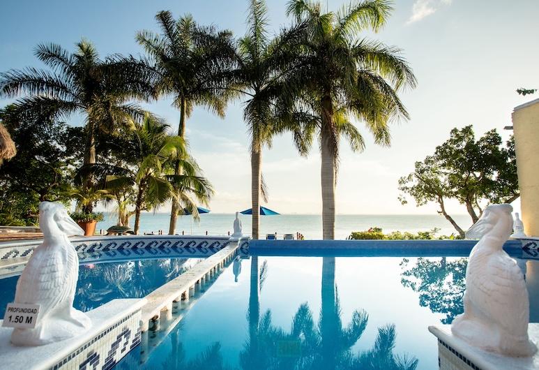 Hotel La Joya, Isla Mujeres, Utendørsbasseng