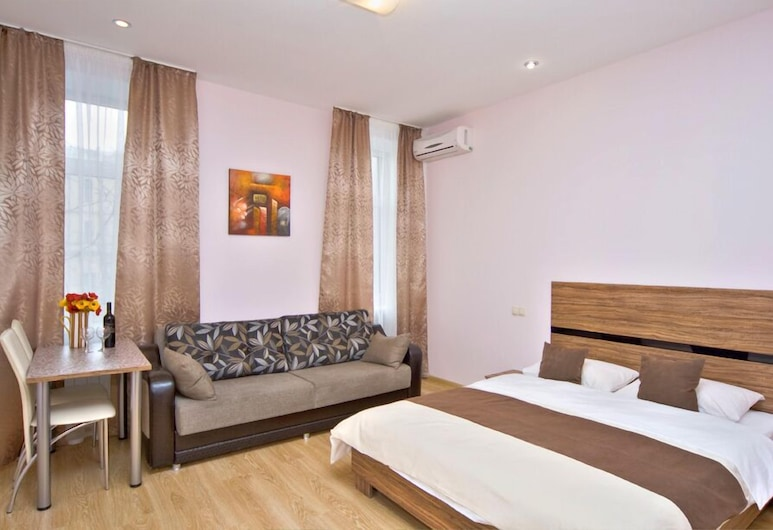 Sunday Apart Hotel, Kyiv, Standard Studio, Guest Room