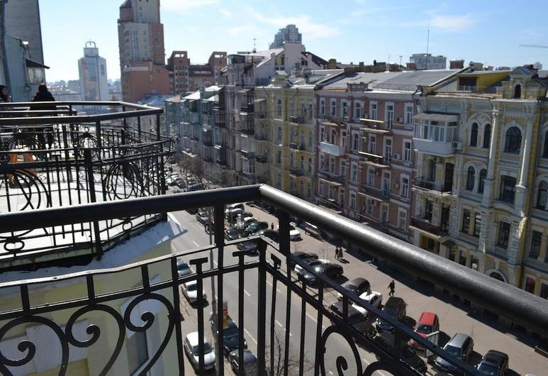 Heart Kiev Apartments, Kyiv, Tweepersoonskamer, Balkon, Kamer