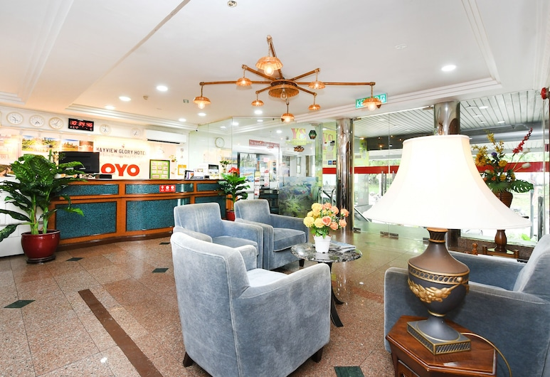 OYO 390 メイビュー グローリー ホテル, クアラルンプール, ロビー応接スペース