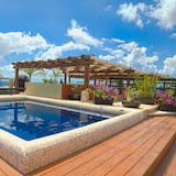 Aldea Two Bedroom Penthouse with Rooftop and Private Pool  - Guest Room