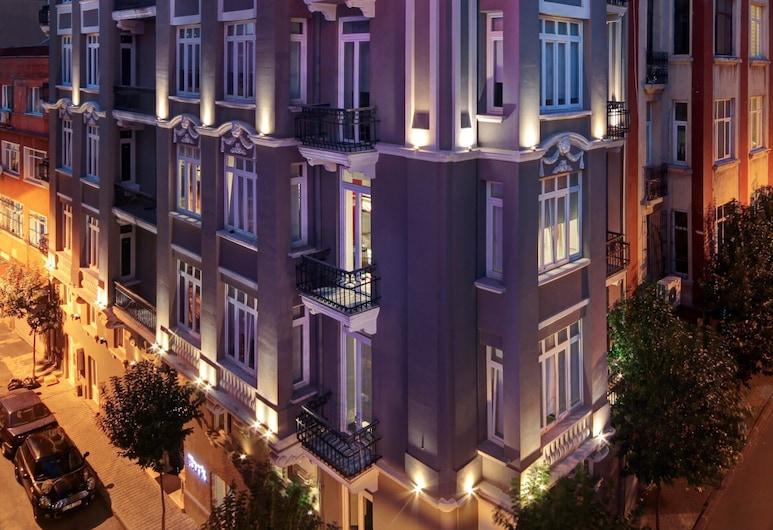 Bunk Hostel, Istanbul, Hotellets front – kveld/natt