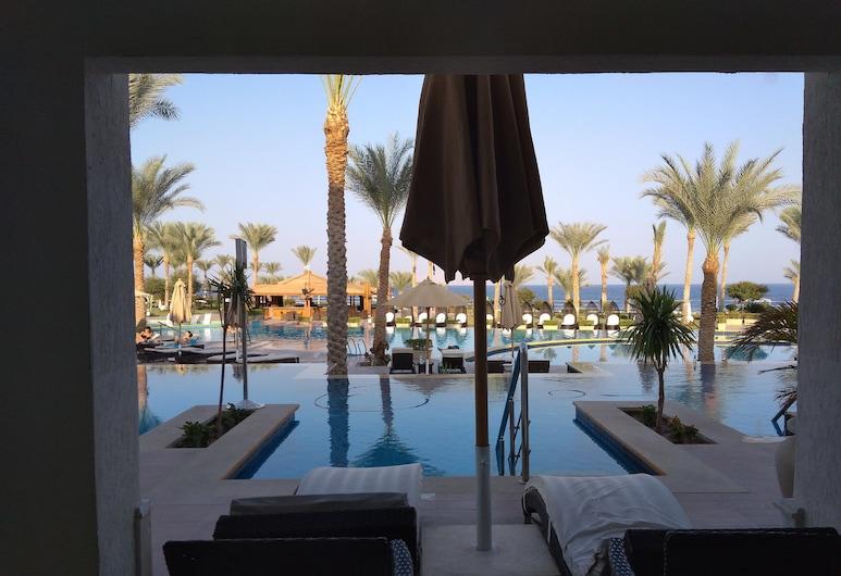 SUNRISE Montemare Resort -Grand Select- (Adults Only), Шарм-Ель-Шейх, Номер «Делюкс» (Swim Up), Вид з балкона