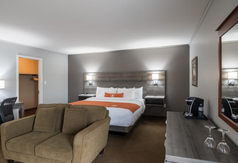 Amsterdam Inn & Suites Moncton, Moncton, Suite Executiva, 1 cama king-size, Quarto
