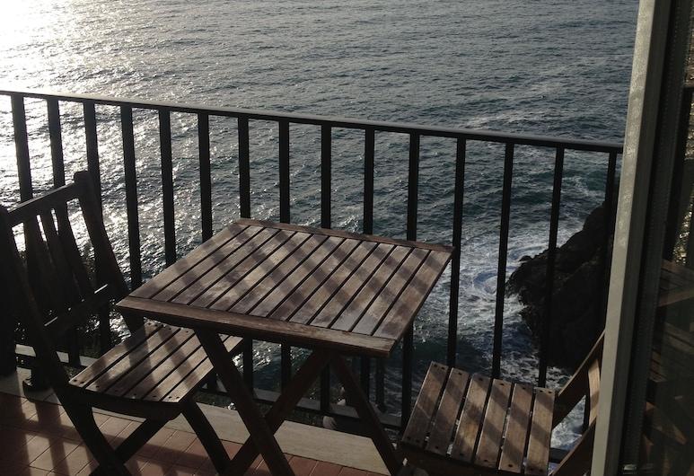 Sol Levante, Riomaggiore, Deluxe Tek Büyük Yataklı Oda, Deniz Manzaralı (Sol), Oda