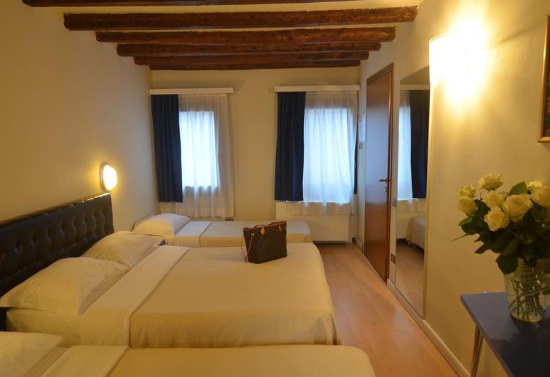 Piccolo Tiepolo, Venedig, Vierbettzimmer, Zimmer