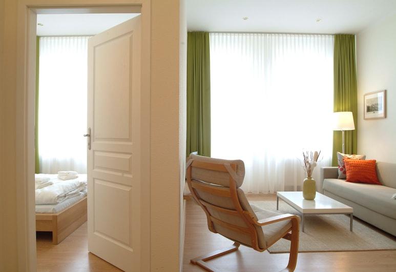 Aparthotel am Zwinger, Drēzdene, Divvietīgs numurs, Dzīvojamā zona