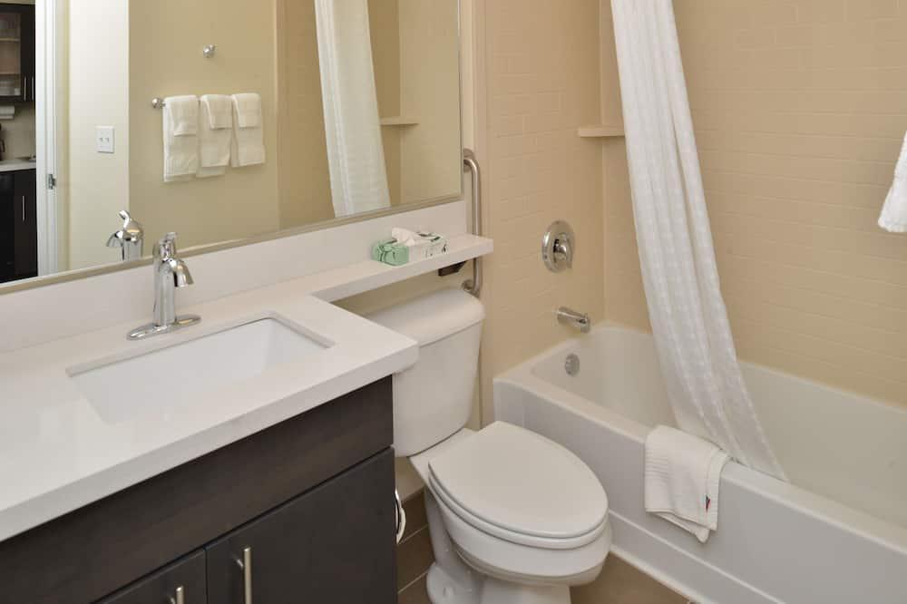 Suite-Estúdio, 1 cama king-size, Vista Rio - Casa de banho