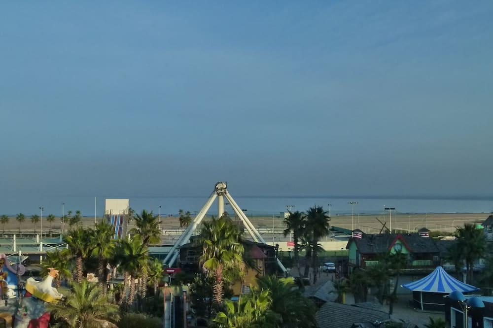 Pokoj s dvoulůžkem nebo 2 jednolůžky, orientovaný směrem k moři - Výhled na pláž/moře