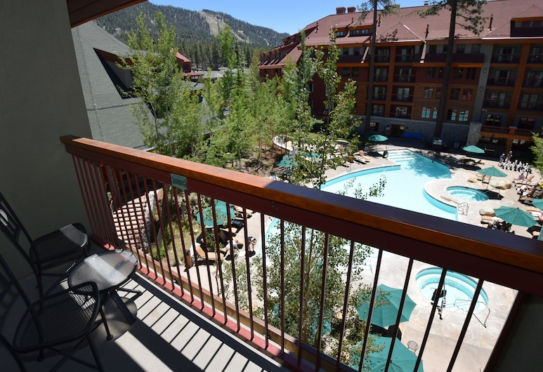 Heavenly Village Condos, South Lake Tahoe, Guest Room, 1 King Bed, No Kitchen, Balkón