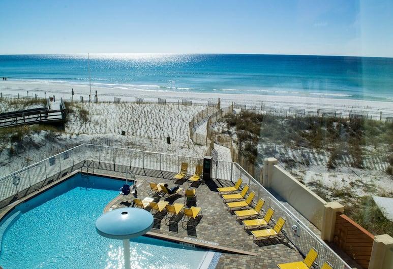 Fairfield Inn & Suites Fort Walton Beach-West Destin, Fort Walton Beach, Huone, 2 keskisuurta parisänkyä, Merenrantanäköala (Gulf View), Vierashuone