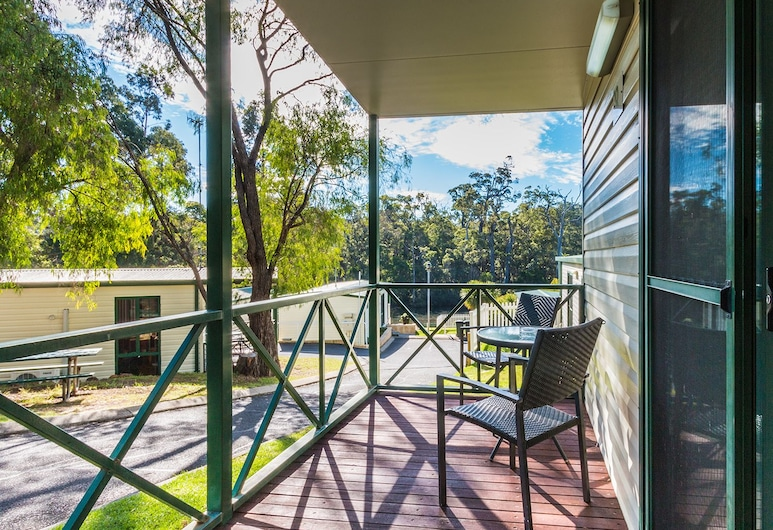 Riverview Tourist Park, Margaret River, Deluxe-Studio, Balkon