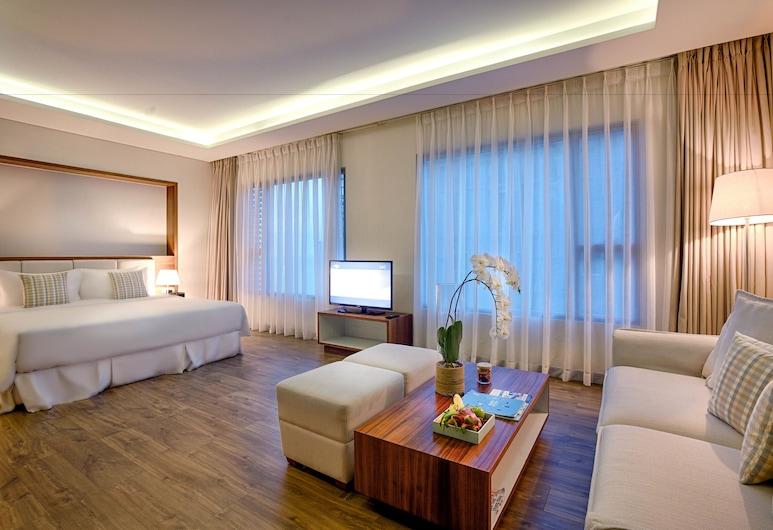峴港阿拉卡特海灘渡假飯店, 峴港, 基本公寓 (Light), 客廳