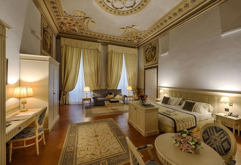 圭恰迪尼宮酒店, 佛羅倫斯, 普通套房 (2 pax), 客房