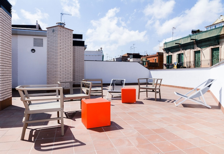 Feelathome Plaza Apartments, Barcelone, Terrasse/Patio