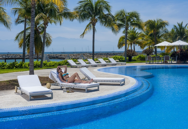 Hotel B Nayar, La Cruz de Huanacaxtle, Kolam Renang Luar Ruangan