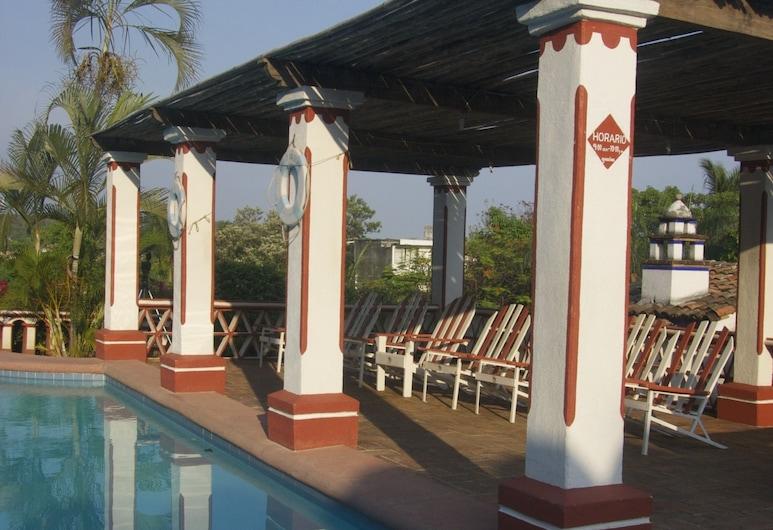 Hotel Paraiso Escondido, Puerto Escondido, Venkovní bazén