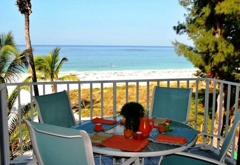 Cedar Cove Resort and Cottages, Holmes Beach, Penthouse de Luxo, Varanda