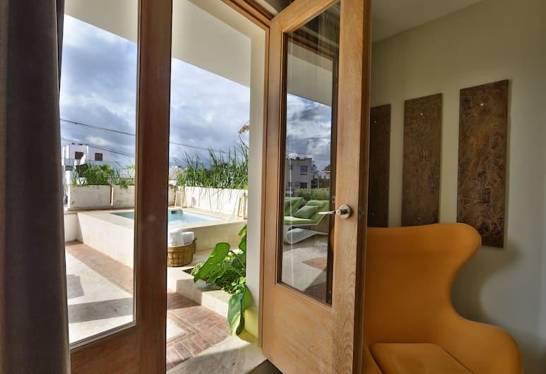 Billini Hotel, Historic Luxury, Santo Domingo, Executive Suite, 1 King Bed (Terrace), Guest Room