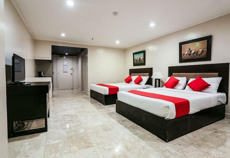OYO 399 Paragon Tower Hotel, Μανίλα, Deluxe Family Suite, Δωμάτιο επισκεπτών