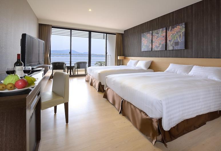 Lealea Garden Hotels-Sun Lake, Yuchi, Deluxe-Vierbettzimmer, Seeblick, Zimmer
