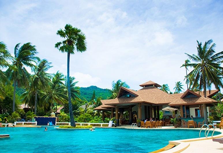 Rin Beach Resort, Ko Pha-ngan, Piscine en plein air