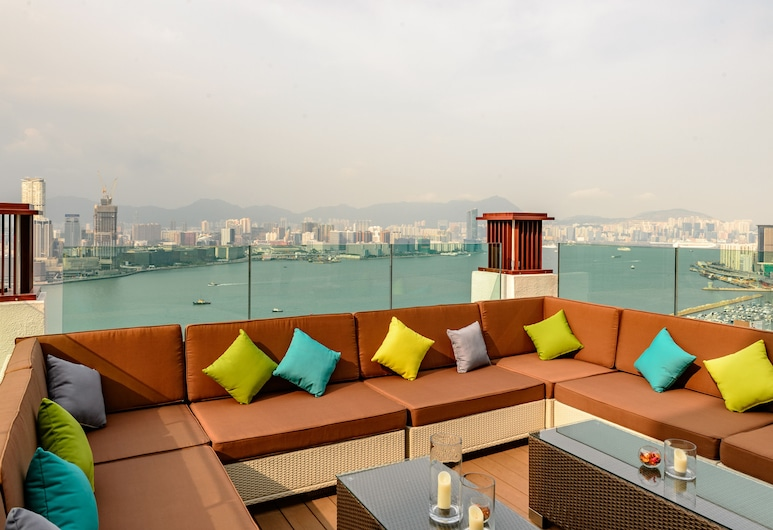 Apartment Kapok, Hongkong, Terrass