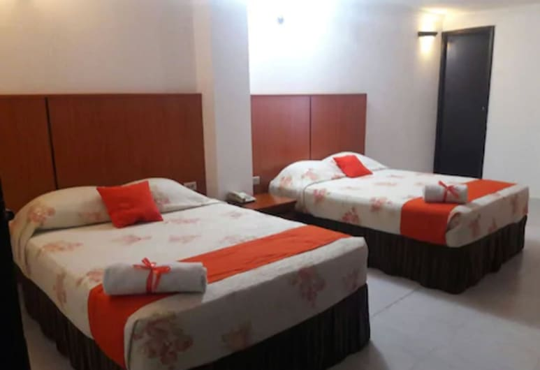 Hotel Vía España, Panama City, Standard Double Room, 2 Twin Beds, Guest Room