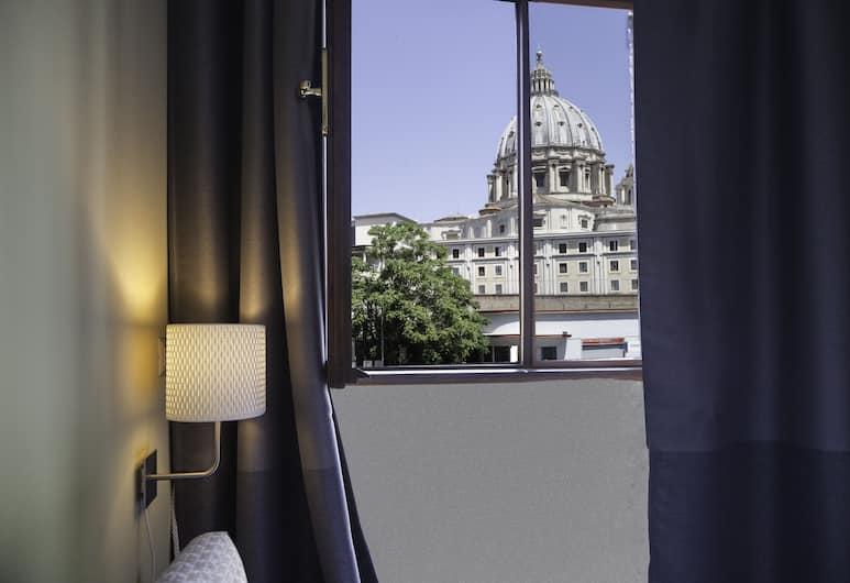 St Peter's View, Rome, Deluxe appartement, kitchenette, Uitzicht op de stad, Uitzicht vanaf kamer