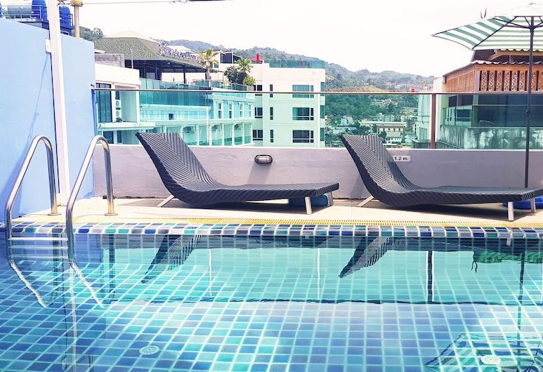 芭東亞歷山大酒店, 巴東, 室外泳池