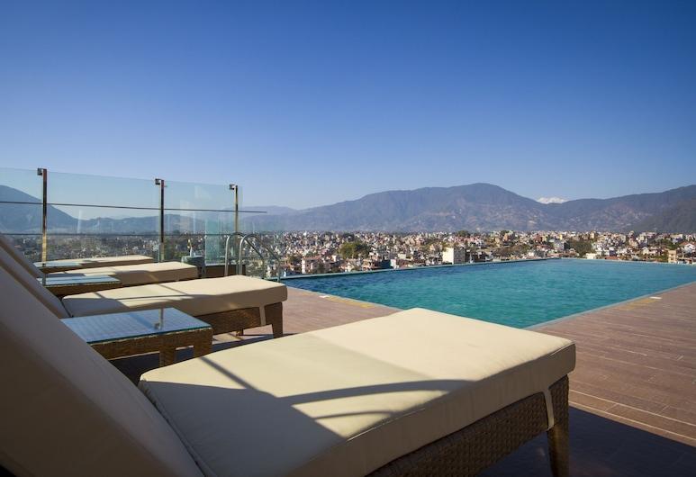 Hotel Shambala, Katmandu, Infinity-Pool